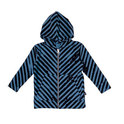 Baby Hoodie Zipped - Stripes