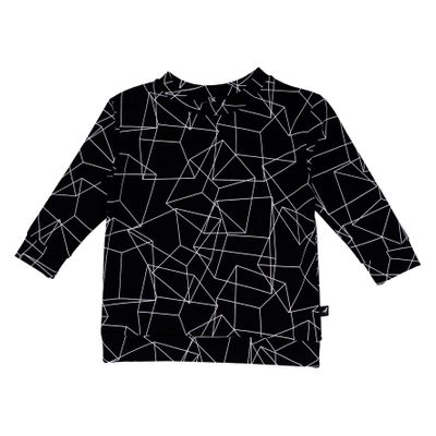 Baby OV Sweater - Black Cubes