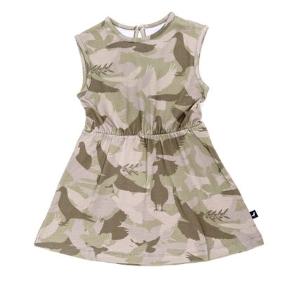 Sleeveless Dress - Camouflage