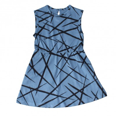 Sleeveless Dress - Blue XY