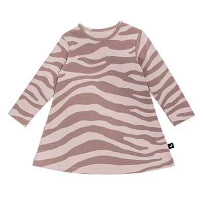 Baby A Dress - Blush Animal