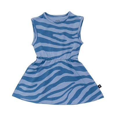 Dress - Blue Animal