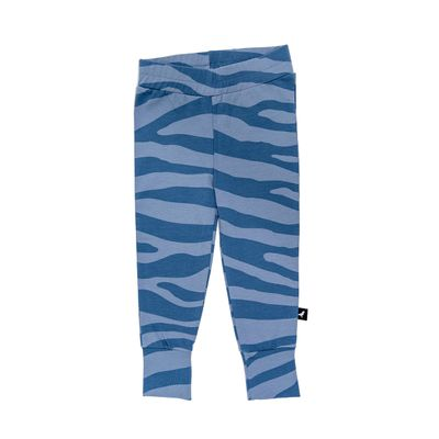Baby Leggings - Blue Animal