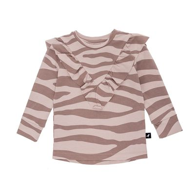 Baby Long T - Blush Animal