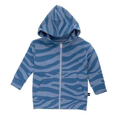 Baby Hoodie - Blue Animal