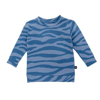 Baby OV Sweater - Blue Animal