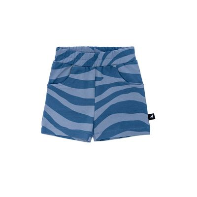 Baby Shorts - Blue Animal