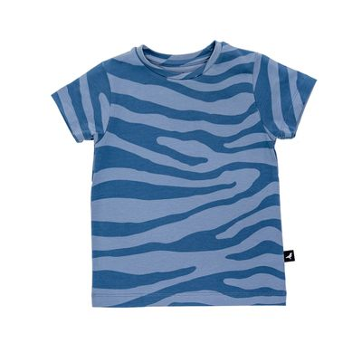 Baby T Shirt - Blue Animal