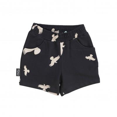 Shorts - Black Raven