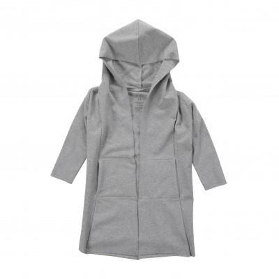 Hoodie Open - Grey