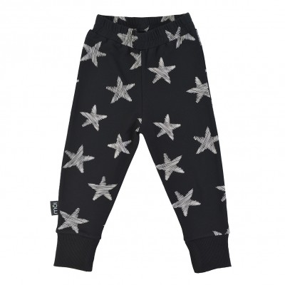 Baby Slim Pants - Black Starfish