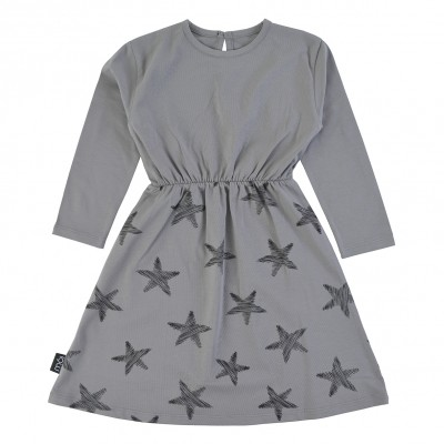 Dress - Grey Starfish