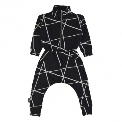 Jumpsuit - Black Lines