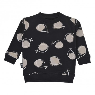 OV Sweater - Black Fish