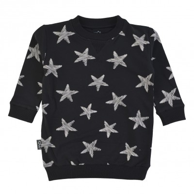 OV Sweater Dress - Black Starfish