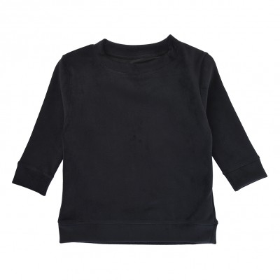 Sweater Velvet - Black