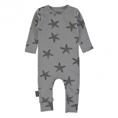 Romper - Grey Starfish