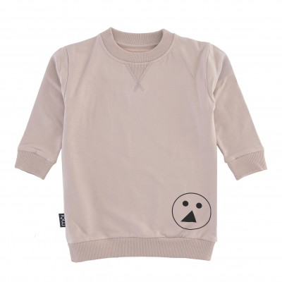 OV Sweater Long - Pink Face