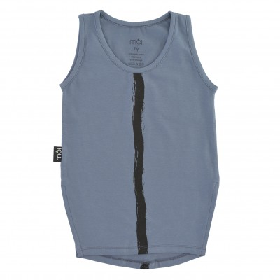 Tank - Blue Stripe