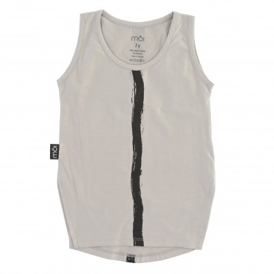 Tank - Grey Stripe