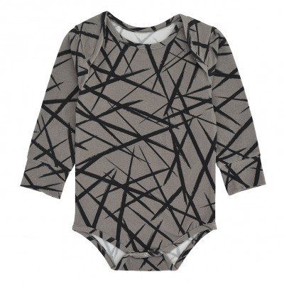 Body Suit LS - Grey XY