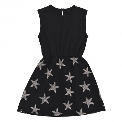 Sleeveless Dress - Black Starfish
