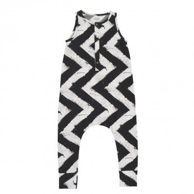 Baby Jumpsuit - Urban Stripes