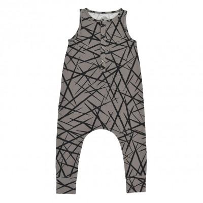 Baby Jumpsuit - Grey XY