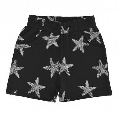 Baby Shorts - Black Starfish