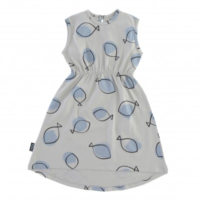 Dress - Grey Fish