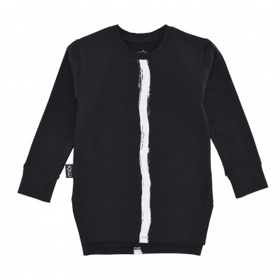 Long T - Black Stripe