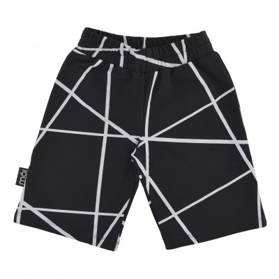 Shorts Long - Black Lines