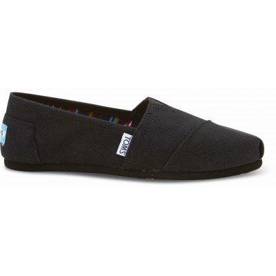 Toms classic women black on black