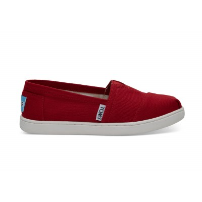 Toms - Skór classic youth red