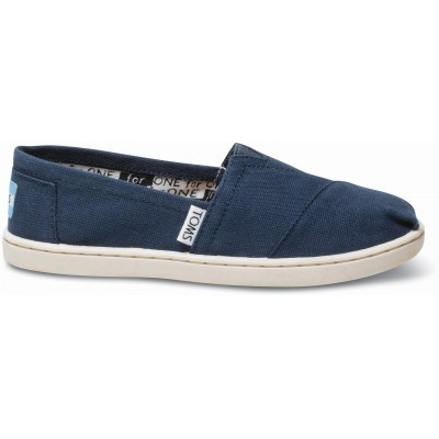 Toms classic youth navy