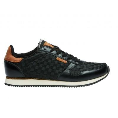 Woden Ydun Black Flet Sneakers
