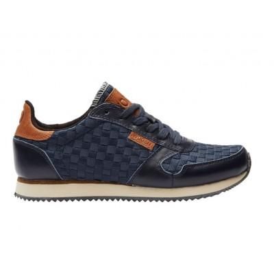 Woden Ydun Navy Flet Sneakers