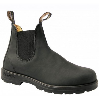Blundstone 587 Rustic Black Leather