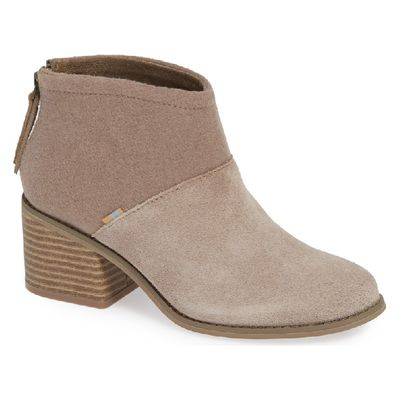 Toms Lacy women Desert Taupe Suede