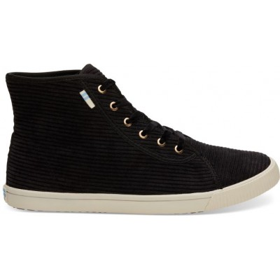 Toms Camarillo sneaker women Black Corduroy