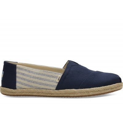 Toms classic university men Navy stripe