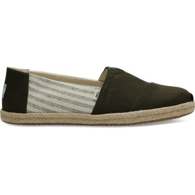 Toms classic university men Tarmac stripe