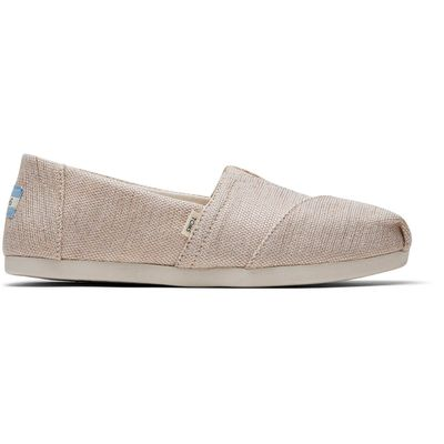 Toms classic women Natural Metallic