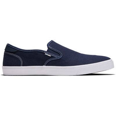 Toms Baja Stitch men Blue canvas