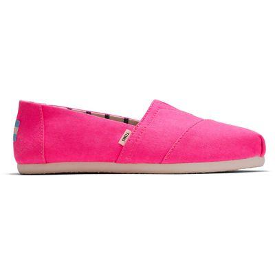 Toms classic women Neon Pink