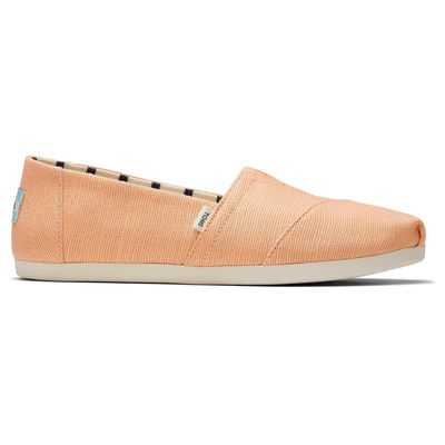 Toms Orange Alpargata Women