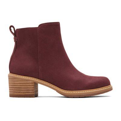 Toms - Skór Marina Boot Burgundy Women