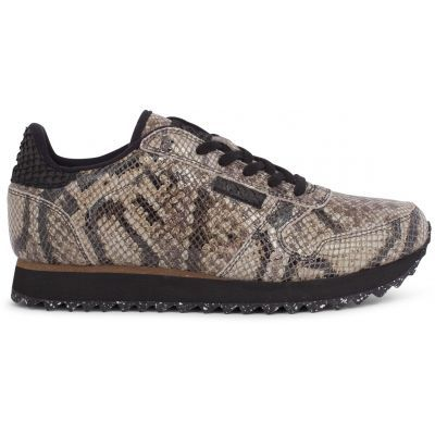 Woden Ydun Brown Snake Sneakers