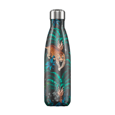 Chilly's flaska Tropical Leopard 500 ml