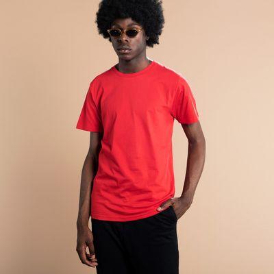 Dedicated - T-shirt Stockholm - Base Red